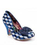 Irregular Choice Nick of Time (Blue/Silver)